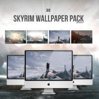 Skyrim Wallpaper Pack by TRAEMORE deviantart by TRAEMORE