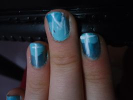 MT ( Marianas Trench) Nails! by poochy228