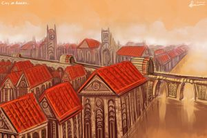 City of Angles. by kuoke