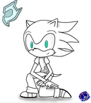 James the Hedgehog .::Gift::. by Cool-Mojo-Sis