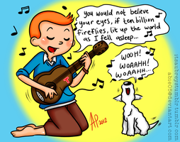 Tintin x OWL CITY by Abie05