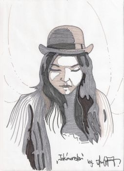 Sketch of Tokimonsta by Shustar