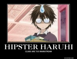 Hipster Haruhi by AlphaMoxley95