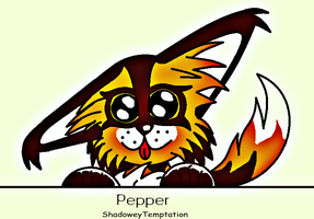 Pepper the AfricanWildDog by ShadoweyTemptation