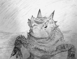 Horny Toad by munjey86