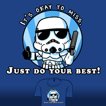 Woot Shirt - It's Okay To Miss by fablefire