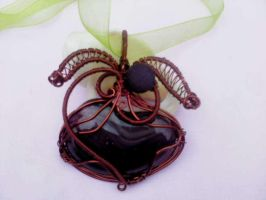 Glass with copper wire by Mirtus63