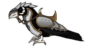 Armored bird by PirateAlice