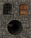 Prison Door, Stable Door and Well by Mortis-of-midian