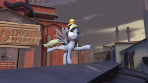 [SFM] Derpy and her Muffin by FD-Daylight