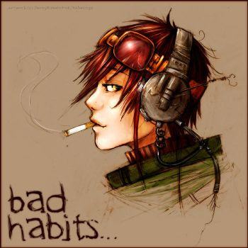 Bad Habits Die Hard. by Ashwings