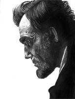 Daniel Day Lewis... as Abraham Lincoln by Amal22