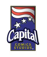 Logo for Capital Comics Studio by justicefrog