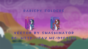 Rarispy Folders by Togekisspika35