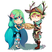 MiniSpris: Warren's Feast Collab by Chisuimi