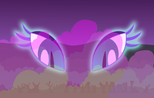 Request: Nightmare Moon Background by IronwoodAKACleanser