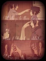 I Will Always Be There, Sasuke by CrimsonShea