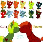 Quint's Otp Tauro Adoptable Babies(open) by Annobethal