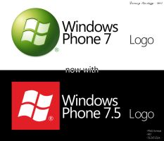 Windows Phone 7 Logos HD by metrovinz