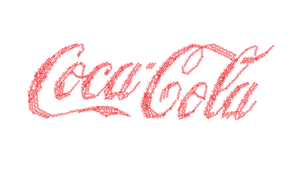 Text poster1 Coca cola logo by spikerman87