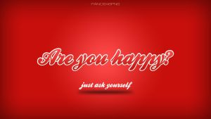 Are you happy by panos46