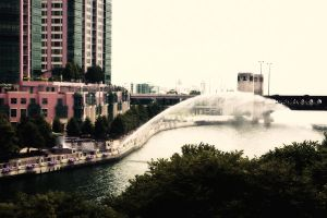 Along the Chicago River by pubculture