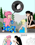 ArtTrade Athena tells about her Origins by SailorEnergy