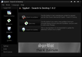 Dark Edition Skin for Spybot by Negative17