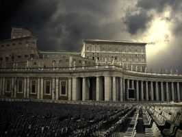 Vatican City by iKubrick