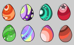Arae Eggs by Ebony-Adopts