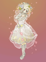 Shironuri inspired: Flover queen by Angelinell