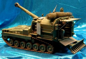 Howitzer Rear View by godzillabadger