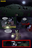 Scourge Eternal Blackout: Issue 1 pg 1 by 5courgesbestbuddy
