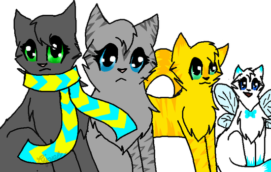 First official drawing tablet drawing and ask OCs by MCSpiritWolf