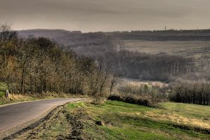aroneanu road hdr by iacobvasile
