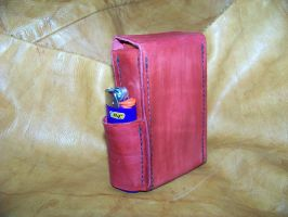 leather cigarette case 1a by MerrillsLeather