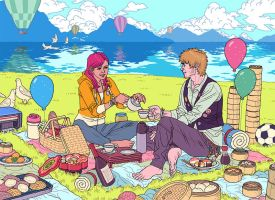'Picnic' by AfuChan