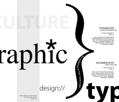 Contemporary Typography Poster by mp0