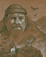 The Mountain Man by bookstoresue