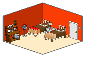 My Room pixels: almost done by JetBlckHrt