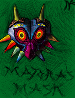 Majora's Mask Sketch - Recolored by DAFORCEFilms