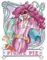 Superheroine Pinkie Pie by raspbearyart