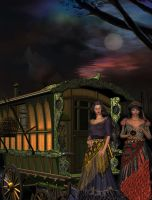 Sign Of The Gypsy Queen by VisualPoetress