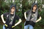Batman Scoodie Scarf Hood Cosplay by Monostache