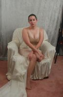 Seated Nouveau Lady 2 by themuseslibrary