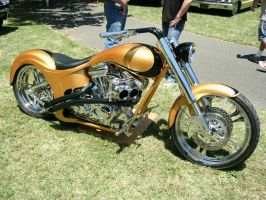 Gold Chopper by RoadTripDog