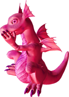 Baby Dragon 18 PNG by clipartcotttage