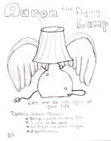 Aaron the flying lamp by valkyriesinger