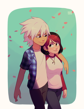 [COMMISSION] Erin and Soul by TheTuchi