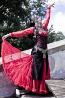 STOCK - Oriental Goth - Persian pose 2 by Apsara-Stock